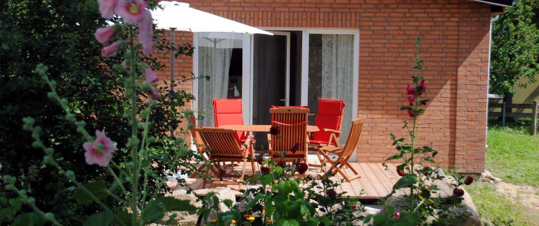 Ferienhaus Meeresbrise - Terrasse