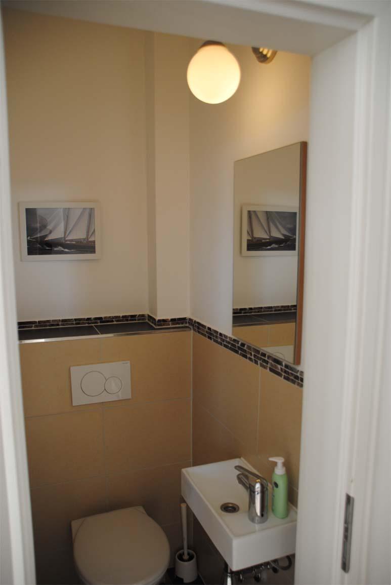 Ferienhaus Meeresbrise - seperates WC