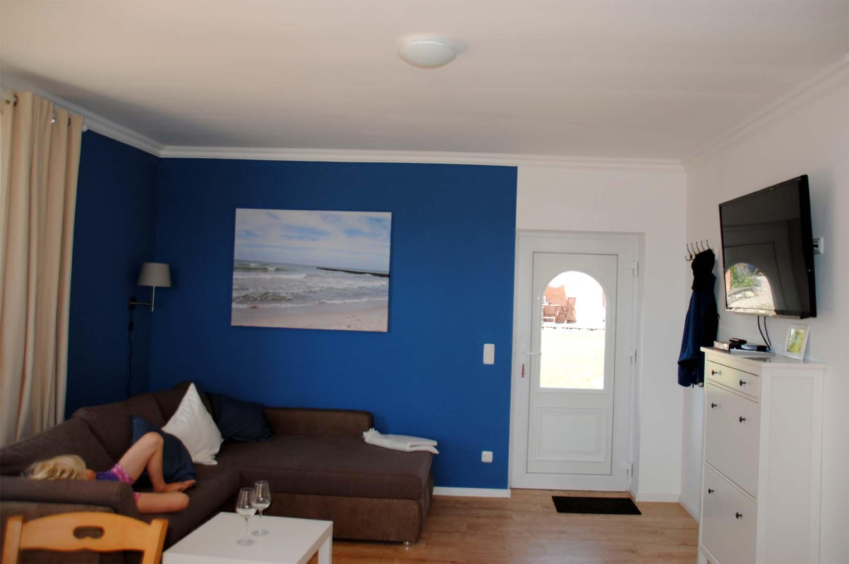 Ferienhaus Meeresbrise - Wohnzimmer