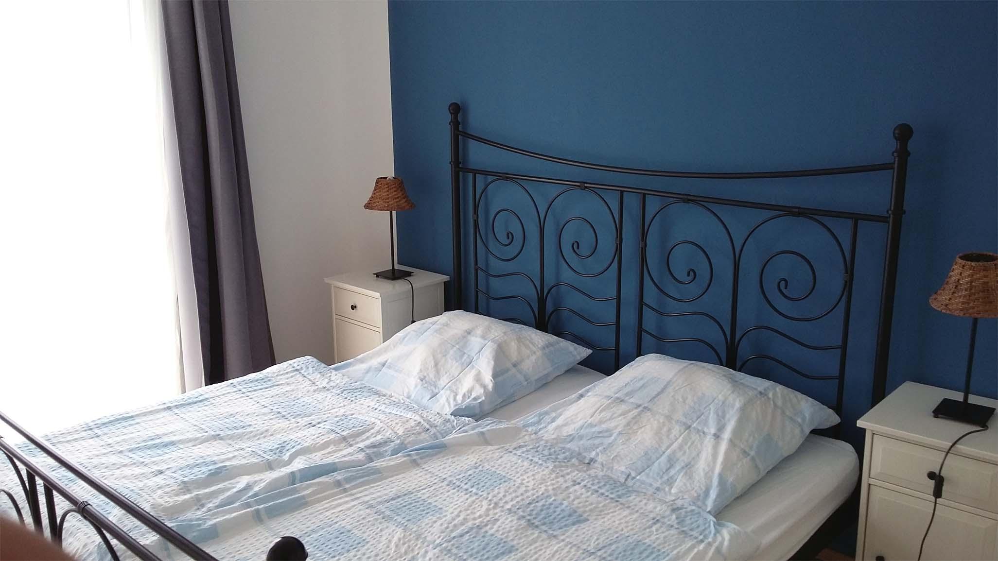 Ferienwohnung Hofblick - Schlafzimmer