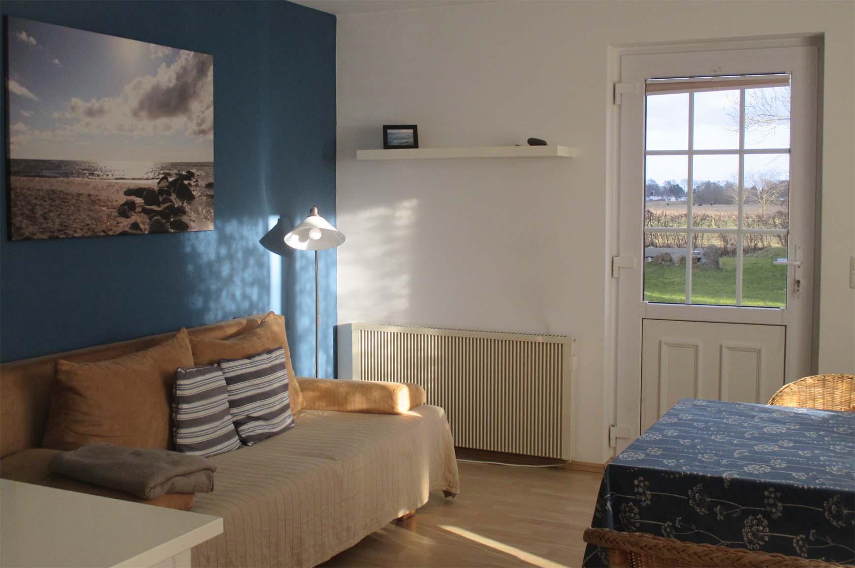 Ferienwohnung Hofblick - Wohnzimmer