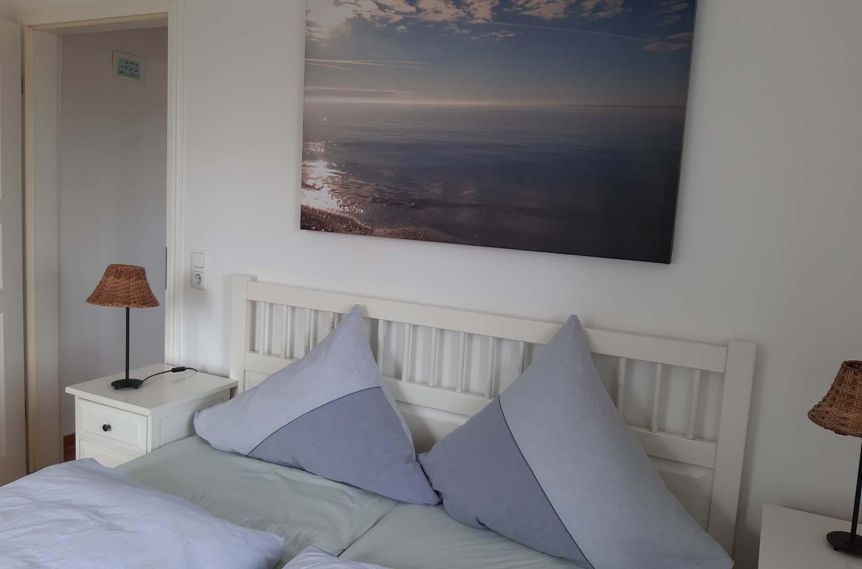 Ferienwohnung Weitblick - Schlafzimmer