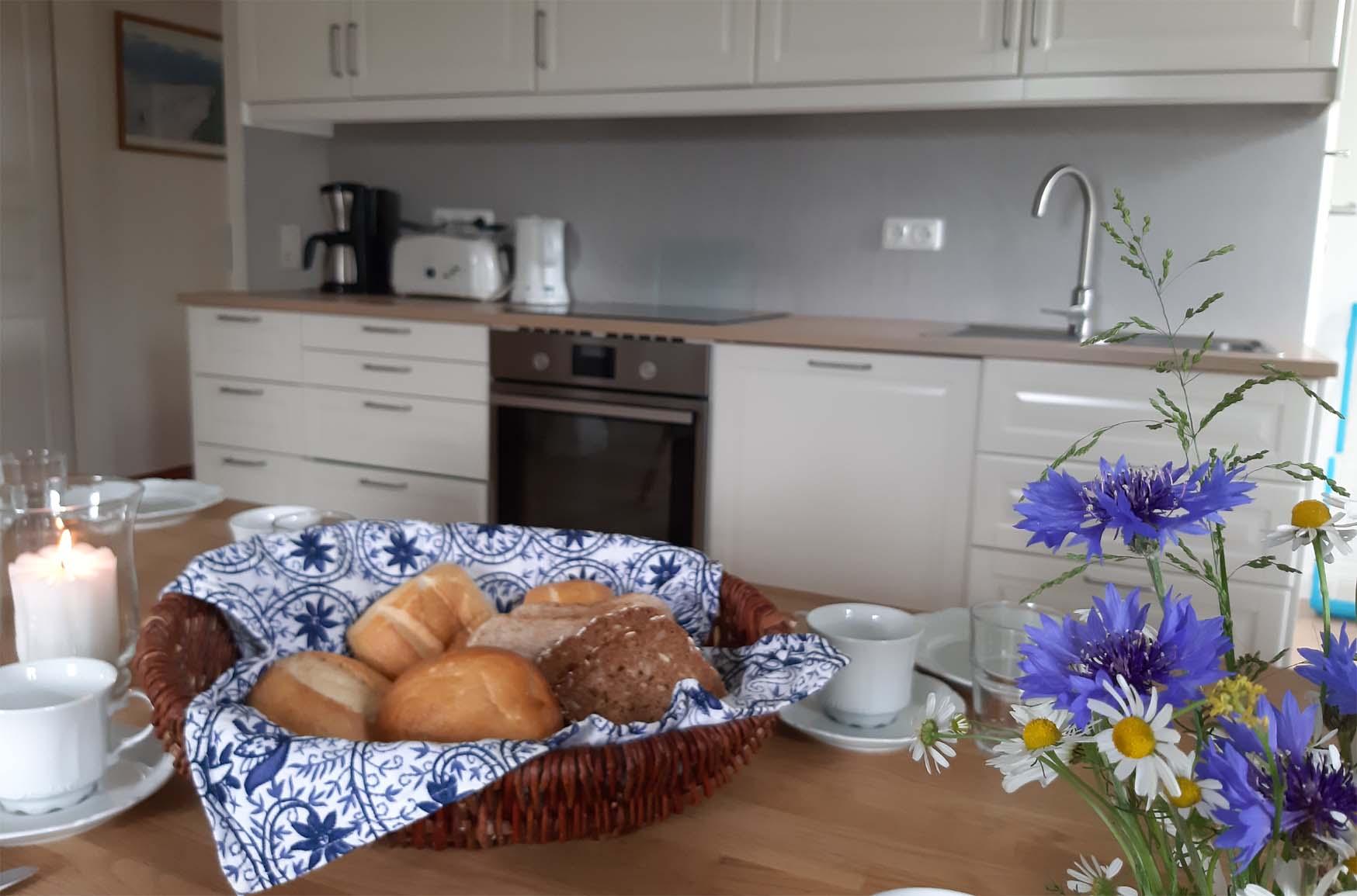 Ferienwohnung Weitblick - Küche